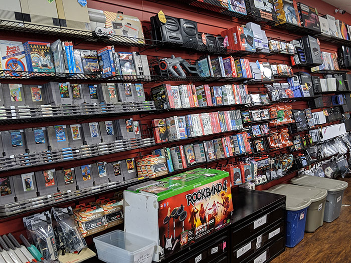 video game store in Tampa, FL
